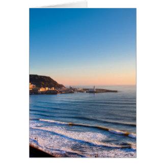 Scarborough Coastline Card