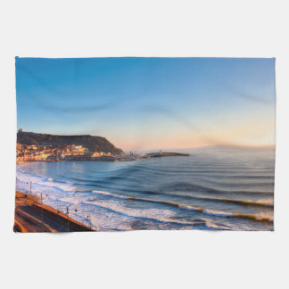 Scarborough Coastline Kitchen Towel