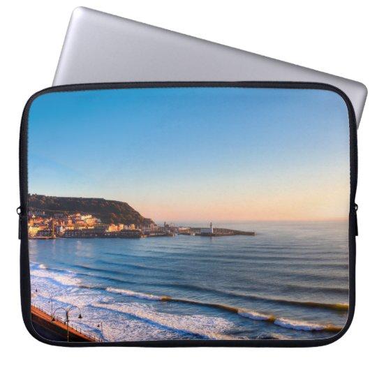 Scarborough Coastline Laptop Sleeve