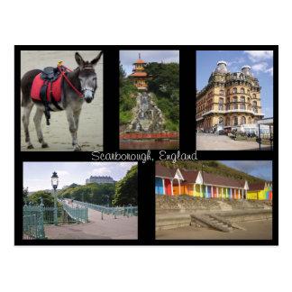 Scarborough England postcard