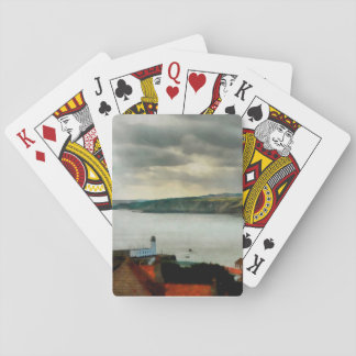 Scarborough from on High Playing Cards