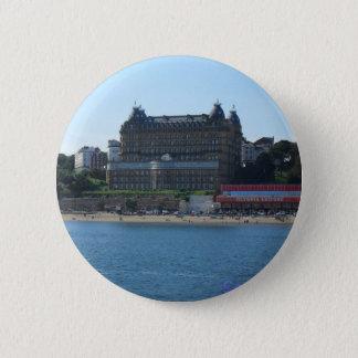 Scarborough Grand hotel 2 Inch Round Button