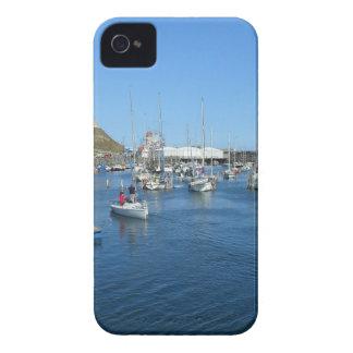 Scarborough harbour iPhone 4 cover