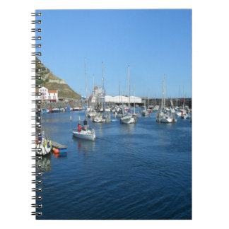 Scarborough harbour notebook