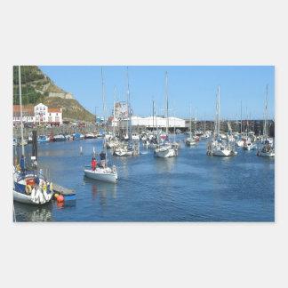 Scarborough harbour sticker