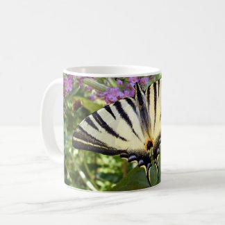 Scarce Swallowtail Butterfly Bug Mug