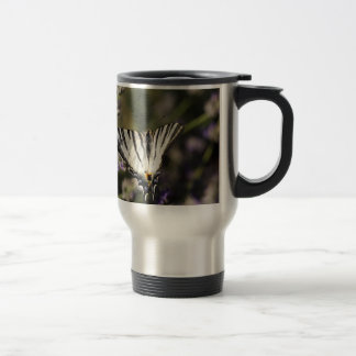 Scarce Swallowtail (Iphiclides podalirius) Travel Mug