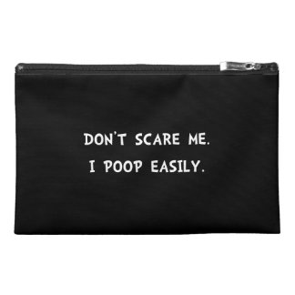 Scare Poop Travel Accessories Bags