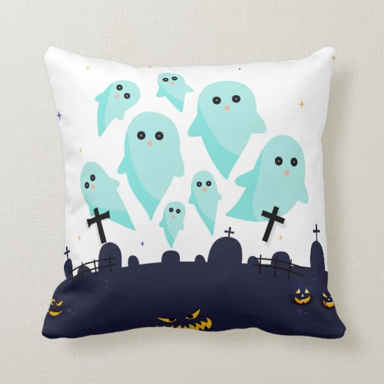 scare them throw pillow