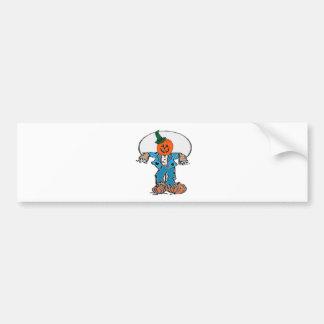 Scarecrow 1 bumper sticker