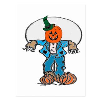 Scarecrow 1 postcard