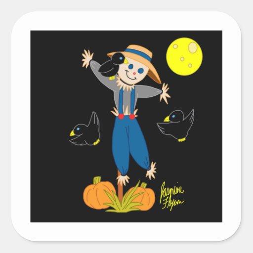 Scarecrow 2 Sticker