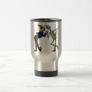 Scarecrow and Tin Man Travel Mug