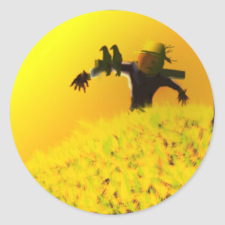 SCARECROW at Dusk Stickers