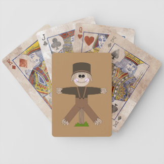 Scarecrow Brown Bicycle Playing Cards