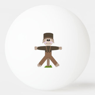 Scarecrow Brown Ping Pong Ball