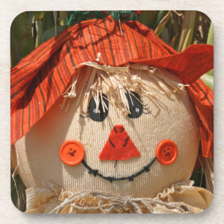 scarecrow drink coaster