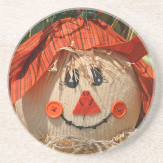 scarecrow drink coasters