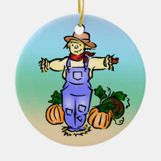 Scarecrow Farmer Ornament