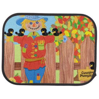 scarecrow fence scene i car mat