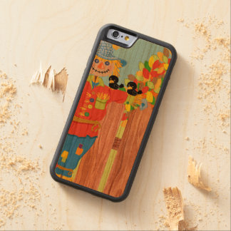 scarecrow fence scene i carved cherry iPhone 6 bumper case