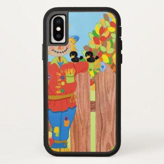 scarecrow fence scene i Case-Mate iPhone case
