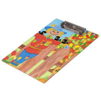 scarecrow fence scene i clipboard