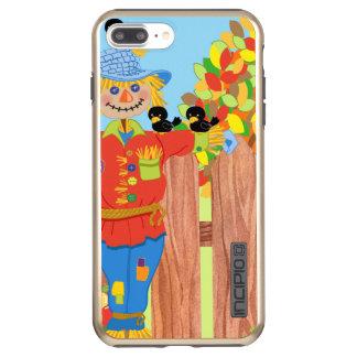 scarecrow fence scene i incipio DualPro shine iPhone 8 plus/7 plus case