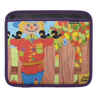 scarecrow fence scene i iPad sleeve