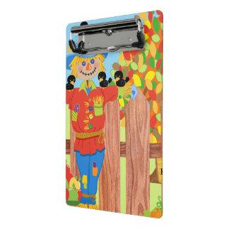 scarecrow fence scene i mini clipboard