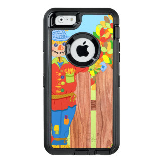 scarecrow fence scene i OtterBox defender iPhone case
