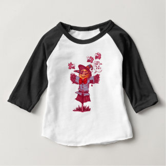 scarecrow gives friendship message cartoon baby T-Shirt