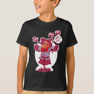 scarecrow gives friendship message cartoon T-Shirt