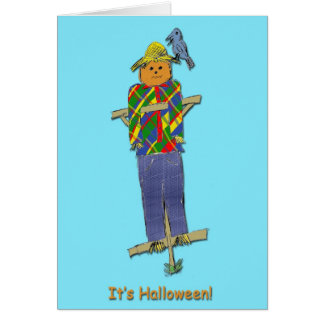 Scarecrow Halloween Card