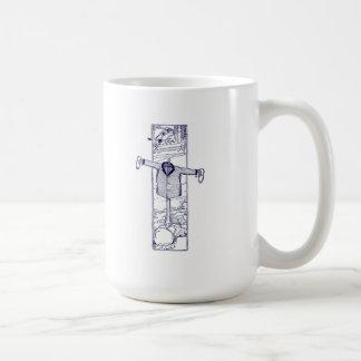 Scarecrow in the Garden Mug