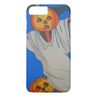 Scarecrow Jack O' Lantern Pumpkin Ghost iPhone 7 Plus Case