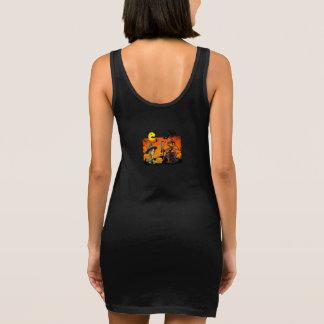 Scarecrow & Little Witch Women's Jersey Tank Dress
