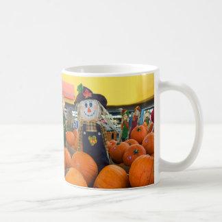 Scarecrow & Pumpkins #2 Mug