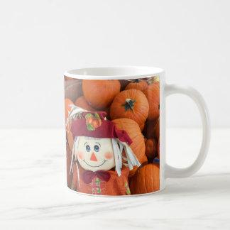 Scarecrow & Pumpkins Mug