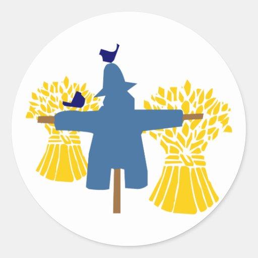 Scarecrow scarecrow stickers