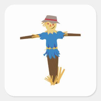 Scarecrow Square Stickers