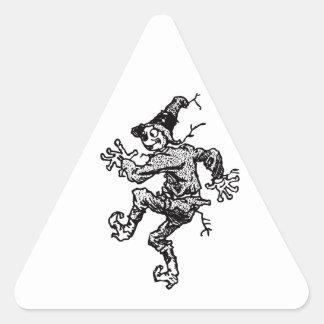 Scarecrow Striding Stickers