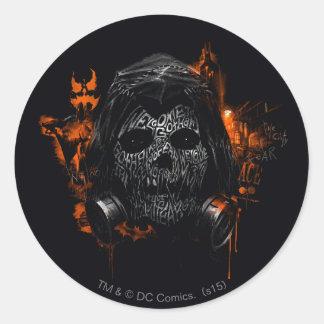 Scarecrow - Welcome To Gotham City Round Sticker