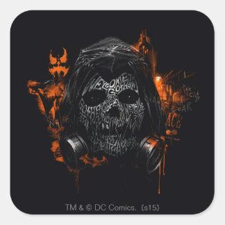 Scarecrow - Welcome To Gotham City Square Sticker
