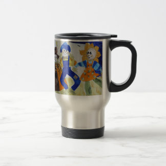 Scarecrows Dancing Travel Mug