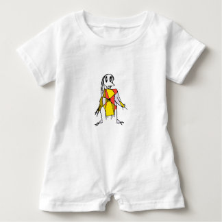 Scarecrows Drawing Baby Romper