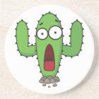 Scared Cactus Coaster