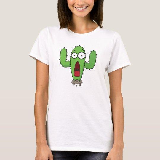 Scared Cactus T-Shirt