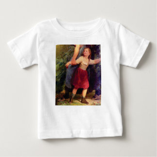 scared little girl baby T-Shirt