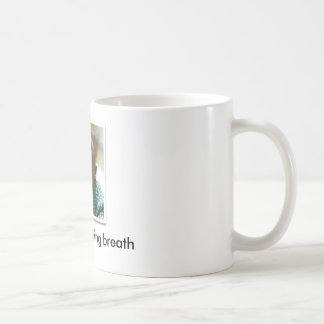 scared-monkey, EWW!!  morning breath - Customized Coffee Mug